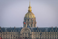 Les Invalides in Paris Stock Photography