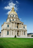 Les Invalides, Paris panorama Stock Image