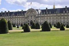 Les Invalides Park Royalty Free Stock Photo