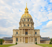 Les Invalides, París, Francia. Tumba de Napoleon. Imagen de archivo