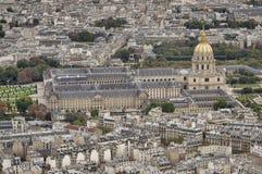 Les Invalides, Paryż Obrazy Stock