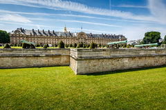 Les Invalides War History Museum in Paris Stock Photo