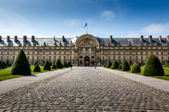 Les Invalides War History Museum in Paris Stock Photography