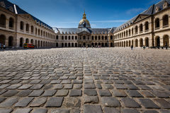 Les Invalides War History Museum in Paris Royalty Free Stock Images