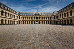 Les Invalides War History Museum in Paris Stock Image