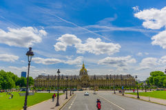Les Invalids buildings, Paris, France Royalty Free Stock Photo