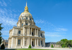 Les Invalids in Paris, France Royalty Free Stock Images