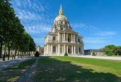 Les Invalids w Paryż, Francja obrazy royalty free