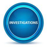 Les investigations regardent le bouton rond bleu illustration de vecteur