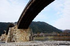 Les Japonais célèbres wodden le pont/Kintaikyo Photos libres de droits