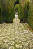 Les jardins de Generalife, Grenade, Espagne Photographie stock libre de droits