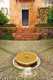 Les jardins de Generalife, Grenade, Espagne Images libres de droits
