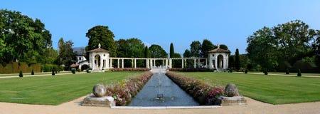 Les jardins de la villa Arnaga photo stock