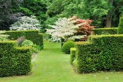 Les Jardins du Betala D Auge i Cambremer i Normandie Royaltyfri Foto