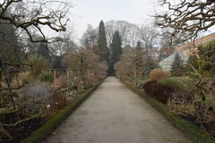 Les jardins du Kruidtuin à Louvain Photo stock