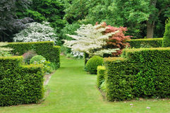 Les Jardins du Pays d Auge in Cambremer in Normandie Royalty Free Stock Photo