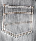 Les jeans desserrent la poche Beau style occasionnel Images stock