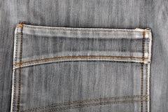 Les jeans desserrent la poche Beau style occasionnel Photos libres de droits