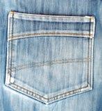 Les jeans desserrent la poche Type occasionnel Photo libre de droits
