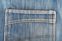 Les jeans desserrent la poche Type occasionnel Photos stock