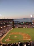Les jets de Giants Brian Wilson lancent avec des bases chargées Photos stock