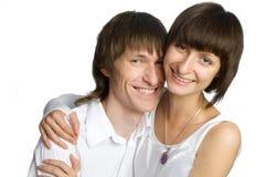 Les jeunes couples Images libres de droits