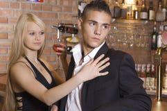 Les jeunes couples Images stock