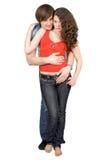 Les jeunes couples Photos stock