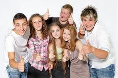 Les jeunes heureux Photographie stock