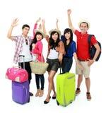 Les jeunes heureux des vacances Photos stock