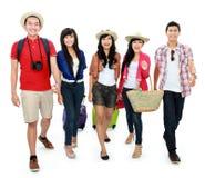 Les jeunes heureux des vacances Photos libres de droits