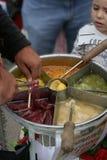 Fabricant de garçon et de sucrerie d'Istanbul Photographie stock libre de droits