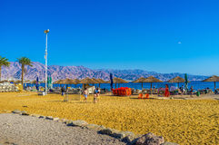 Les jeux de plage Photographie stock