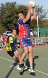 Les jeux des hommes de ligue de Korfball Image libre de droits
