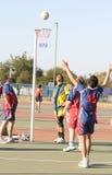 Les jeux des hommes de ligue de Korfball Photo stock