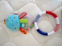 Les jouets de la chéri Photos libres de droits
