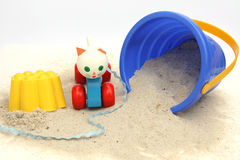 Les jouets des enfants Photographie stock libre de droits