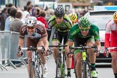 Les 4 jours de Dunkerke 2014 (corsa di strada del ciclo) Fotografia Stock Libera da Diritti