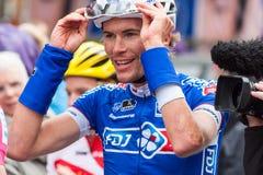 Les 4 jours De Dunkerque 2014 (épreuve sur route de cycle) Image libre de droits