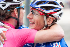 Les 4 jours de Dunkerque 2014 (ciclismo en ruta del ciclo) Imagen de archivo libre de regalías