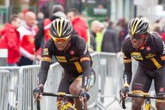 Les 4 jours de Dunkerque 2014 (cirkuleringsvägloppet) Royaltyfria Bilder