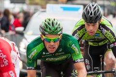 Les 4 jours de Dunkerque 2014 (cirkuleringsvägloppet) Arkivfoto