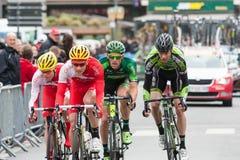 Les 4 jours de Dunkerque 2014 (cirkuleringsvägloppet) Arkivfoton