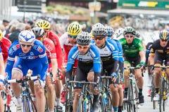 Les 4 jours de Dunkerque 2014 (competição automóvel do ciclo) Imagens de Stock Royalty Free
