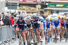 Les 4 jours de Dunkerque 2014 (competição automóvel do ciclo) Imagem de Stock