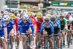 Les 4 jours de Dunkerque 2014 (competição automóvel do ciclo) Imagens de Stock