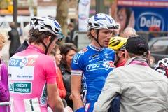 Les 4 jours de Dunkerque 2014 (competição automóvel do ciclo) Foto de Stock