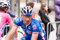Les 4 jours de Dunkerque 2014 (cycle road race). 5th stage of the race, after the arrival Royalty Free Stock Photography