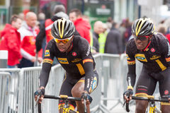 Les 4 jours de Dunkerque 2014 (cycle road race) Royalty Free Stock Images