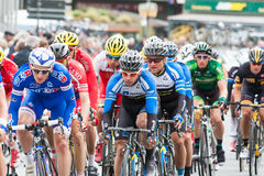Les 4 jours de Dunkerque 2014 (cyklu rajd samochodowy) Obrazy Royalty Free